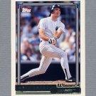 1992 Topps Baseball Gold Winners #748 Matt Nokes - New York Yankees