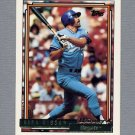 1992 Topps Baseball Gold Winners #720 Kirk Gibson - Kansas City Royals