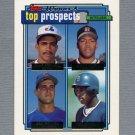 1992 Topps Baseball Gold Winners #618 Cesar Hernandez / Steve Hosey / Dan Peltier / Jeff McNeely