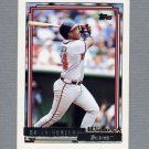 1992 Topps Baseball Gold Winners #611 Brian Hunter - Atlanta Braves