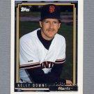1992 Topps Baseball Gold Winners #573 Kelly Downs - San Francisco Giants