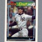 1992 Topps Baseball Gold Winners #442 Dave West - Minnesota Twins