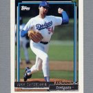 1992 Topps Baseball Gold Winners #363 John Candelaria - Los Angeles Dodgers