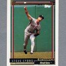 1992 Topps Baseball Gold Winners #349 Steve Lyons - Boston Red Sox
