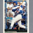 1992 Topps Baseball Gold Winners #315 Juan Samuel - Los Angeles Dodgers
