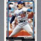 1992 Topps Baseball Gold Winners #289 Mike Morgan - Los Angeles Dodgers