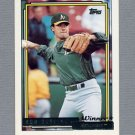 1992 Topps Baseball Gold Winners #259 Ron Darling - Oakland A's