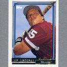 1992 Topps Baseball Gold Winners #258 Jim Lindeman - Philadelphia Phillies