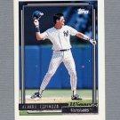 1992 Topps Baseball Gold Winners #243 Alvaro Espinoza - New York Yankees