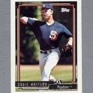 1992 Topps Baseball Gold Winners #228 Eddie Whitson - San Diego Padres