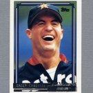 1992 Topps Baseball Gold Winners #161 Casey Candaele - Houston Astros