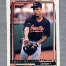 1992 Topps Baseball Gold Winners #052 Juan Bell - Baltimore Orioles