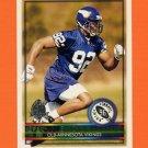 1996 Topps Football #428 Duane Clemons RC - Minnesota Vikings