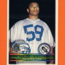 1996 Topps Football #415 Reggie Brown RC - Detroit Lions