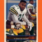 1996 Topps Football #351 George Teague - Green Bay Packers