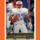 1996 Topps Football #349 Blaine Bishop - Houston Oilers