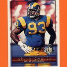 1996 Topps Football #304 Kevin Carter - St. Louis Rams