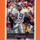1996 Topps Football #282 Scott Mitchell - Detroit Lions
