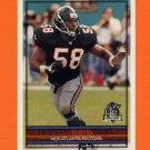 1996 Topps Football #161 Jessie Tuggle - Atlanta Falcons