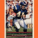 1996 Topps Football #087 Terrell Fletcher - San Diego Chargers
