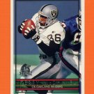 1996 Topps Football #075 Terry McDaniel - Oakland Raiders
