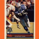 1996 Topps Football #072 Henry Thomas - Detroit Lions