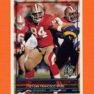 1996 Topps Football #064 Dana Stubblefield - San Francisco 49ers