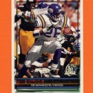 1996 Topps Football #043 Robert Smith - Minnesota Vikings