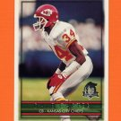 1996 Topps Football #034 Dale Carter - Kansas City Chiefs