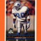 1996 Topps Football #011 Brett Perriman - Detroit Lions