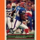 1996 Topps Football #008 Darick Holmes - Buffalo Bills
