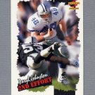 1996 Score Football #268 Daryl Johnston SE - Dallas Cowboys