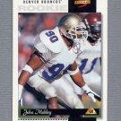 1996 Score Football #236 John Mobley RC - Denver Broncos