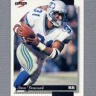 1996 Score Football #208 Steve Broussard - Seattle Seahawks