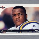 1996 Score Football #129 James A. Stewart - Minnesota Vikings