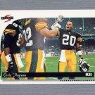 1996 Score Football #100 Erric Pegram - Pittsburgh Steelers