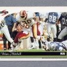 1996 Score Football #091 Brian Mitchell - Washington Redskins