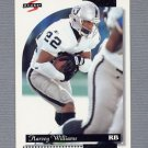 1996 Score Football #039 Harvey Williams - Oakland Raiders