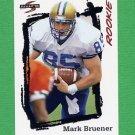 1995 Score Football #272 Mark Bruener RC - Pittsburgh Steelers