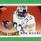 1995 Score Football #233 Byron Bam Morris SS - Pittsburgh Steelers
