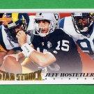 1995 Score Football #231 Jeff Hostetler SS - Oakland Raiders