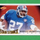 1995 Score Football #225 Rodney Hampton SS - New York Giants