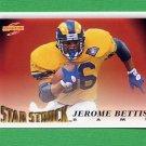 1995 Score Football #216 Jerome Bettis SS - St. Louis Rams