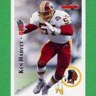 1995 Score Football #168 Ken Harvey - Washington Redskins
