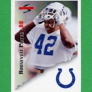 1995 Score Football #151 Roosevelt Potts - Indianapolis Colts
