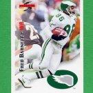 1995 Score Football #138 Fred Barnett - Philadelphia Eagles
