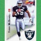 1995 Score Football #137 Terry McDaniel - Oakland Raiders