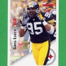 1995 Score Football #113 Greg Lloyd - Pittsburgh Steelers