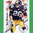 1995 Score Football #006 Rod Woodson - Pittsburgh Steelers