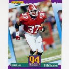 1994 Score Football #298 Kevin Lee RC - New England Patriots
